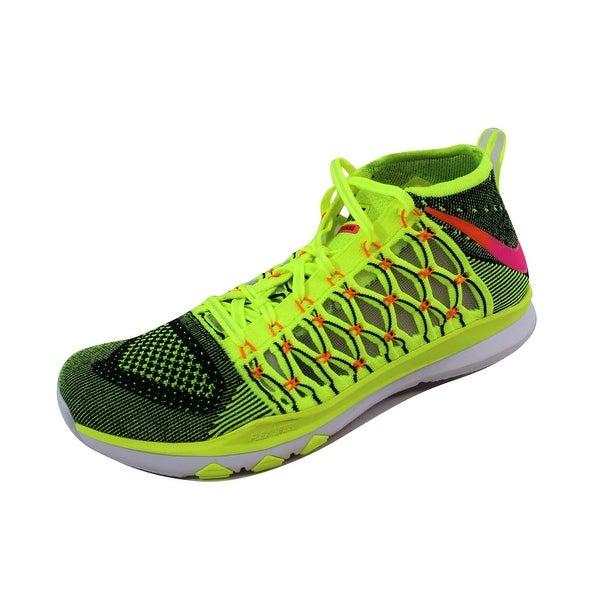 d2be7a9aef4f Nike Men  x27 s Train Ultrafast Flyknit Black Infrared 23-White 843694