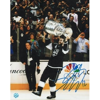 Simon Gagne Los Angeles Kings Autographed 8x10 Photo