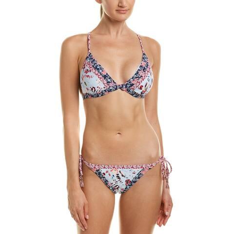 Lucky Brand 2Pc Gypsy Bikini Set