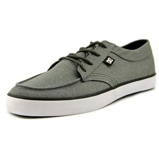 DC Shoes Standard TX Round Toe Canvas Sneakers