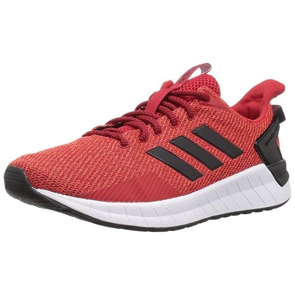 aadd967fdd2 Shop Adidas Men's Questar Ride Running Shoe, Scarlet/Black/Hi-Res ...