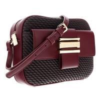 ccba7ab5b5 Shop Versace EE1VSBBG6 EJ31 Maroon Satchel Bag - 17-9-7.5 - Free ...