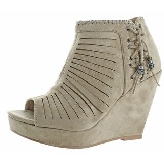 Not Rated Avisio Women's Boho Wedge Dress Shoes