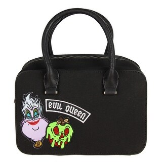 Loungefly Disney Villains Patch Duffel Bag - Black - One Size Fits most