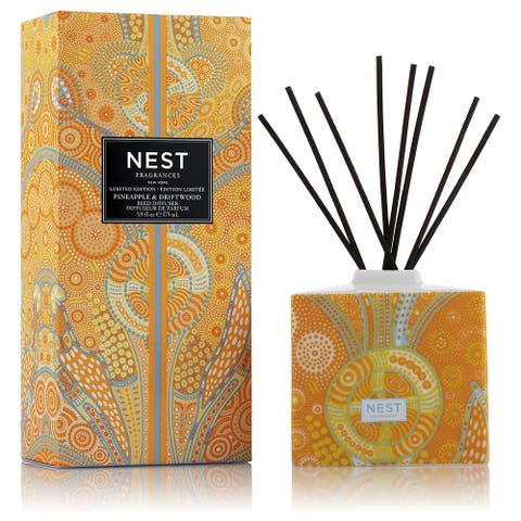 NEST Fragrances Pineapple and Driftwood Limited Edition Summer Scape Reed Diffuser