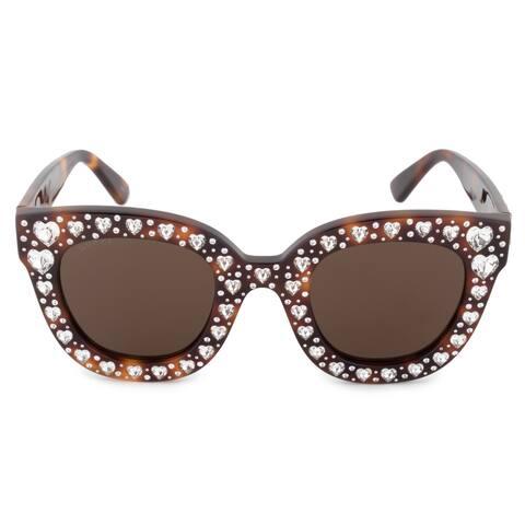 0ed5105321b Gucci GG0116S 006 49 Oversized Sunglasses