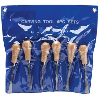 Palm-Style Deluxe Woodcarving Tool Set-6pcs