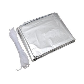 AceCamp Reflective Tube Tent - Silver