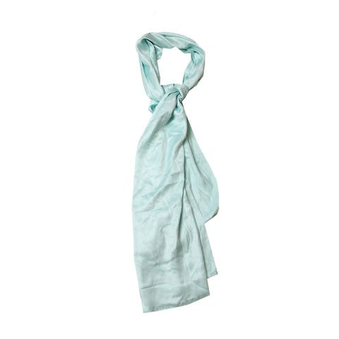 Inc International Concepts Mint Satin Wrap Scarf OS