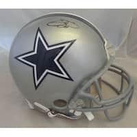 Emmitt Smith Autographed Dallas Cowboys Full Size Proline Helmet JSA