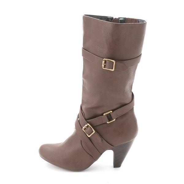 DOLCE by Mojo Moxy Womens Natasha Round Toe Fashion Boots