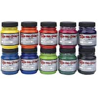 Jacquard Dye-Na-Flow Specialty Paint Set, 2.25 Ounces, Assorted Colors, Set of 10