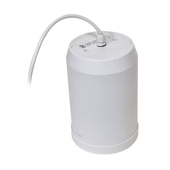 5'' 20 Watt Ceiling Hanging Pendant Speaker w/ 70V Transformer (White)