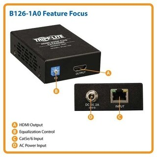 Tripp Lite B126-1A0 Hdmi Over Cat5/Cat6 Active Extender