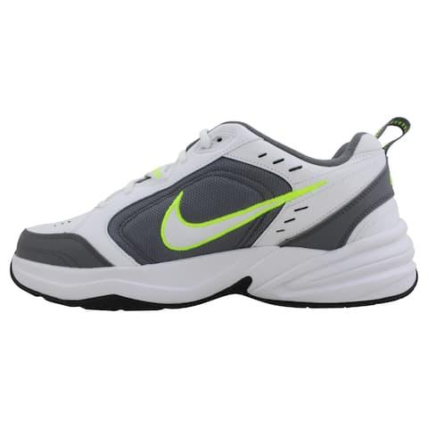 Nike Air Monarch IV White/White-Cool Grey 415445-100 Men's