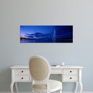 Easy Art Prints Panoramic Images's 'Geneva Switzerland' Premium Canvas Art