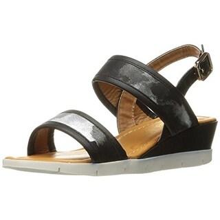 Kensie Girl Girls Casual Wedge Sandals - 5 medium (b,m)