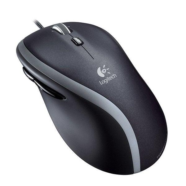 Logitech 910-001204 Corded Mouse M500, 7 Button(S) - Black, Gray