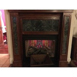 Glass Fireplace Screen