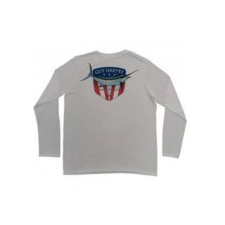 Guy Harvey Mens Down Home Long Sleeve Performance Shirt (2 options available)
