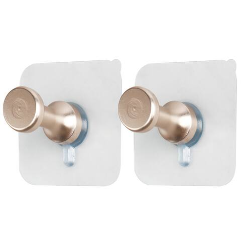 Meike Household Authorized Self Stick Wall Hooks Hanging Coats Towel Hanger