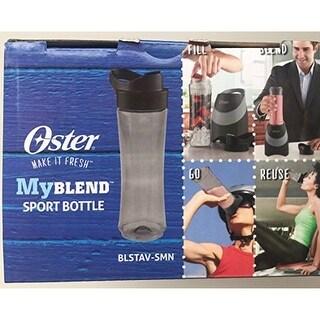 Oster BLSTAV-SMN MyBlend Sport Bottle Gray BPA Free 20 Ounces