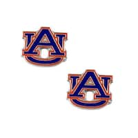 Auburn Tigers Post Stud Logo Earring Set Charm Gift NCAA