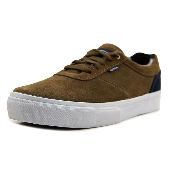 C1rca Gravette Men Mocha/Dress Blues Skateboarding Shoes