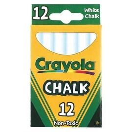 Crayola 12Ct White Chalk