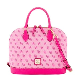 Dooney & Bourke Madison Signature Zip Zip Satchel (Introduced by Dooney & Bourke at $228 in Jun 2016) - Fuchsia