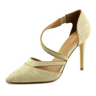 Charles By Charles David Point Women Pointed Toe Leather Tan Heels