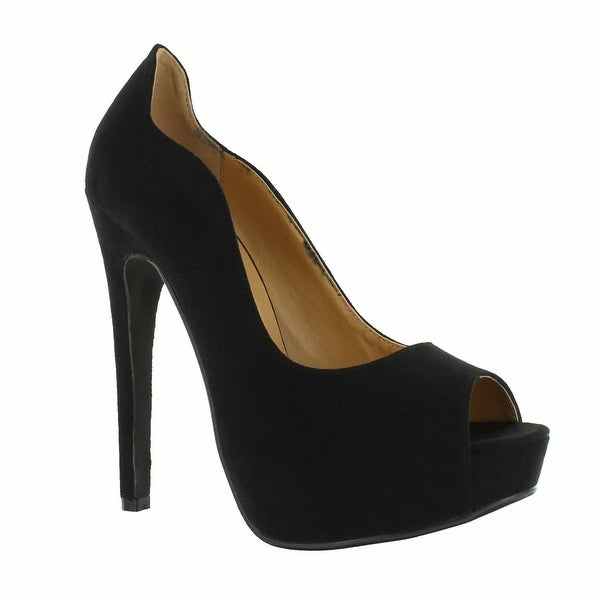 Red Circle Footwear 'Season' Peep Toe Pump