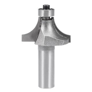 Router Bit 1/2 Shank 1 Inch Dia Round Corner Tungsten with Milling Cutter