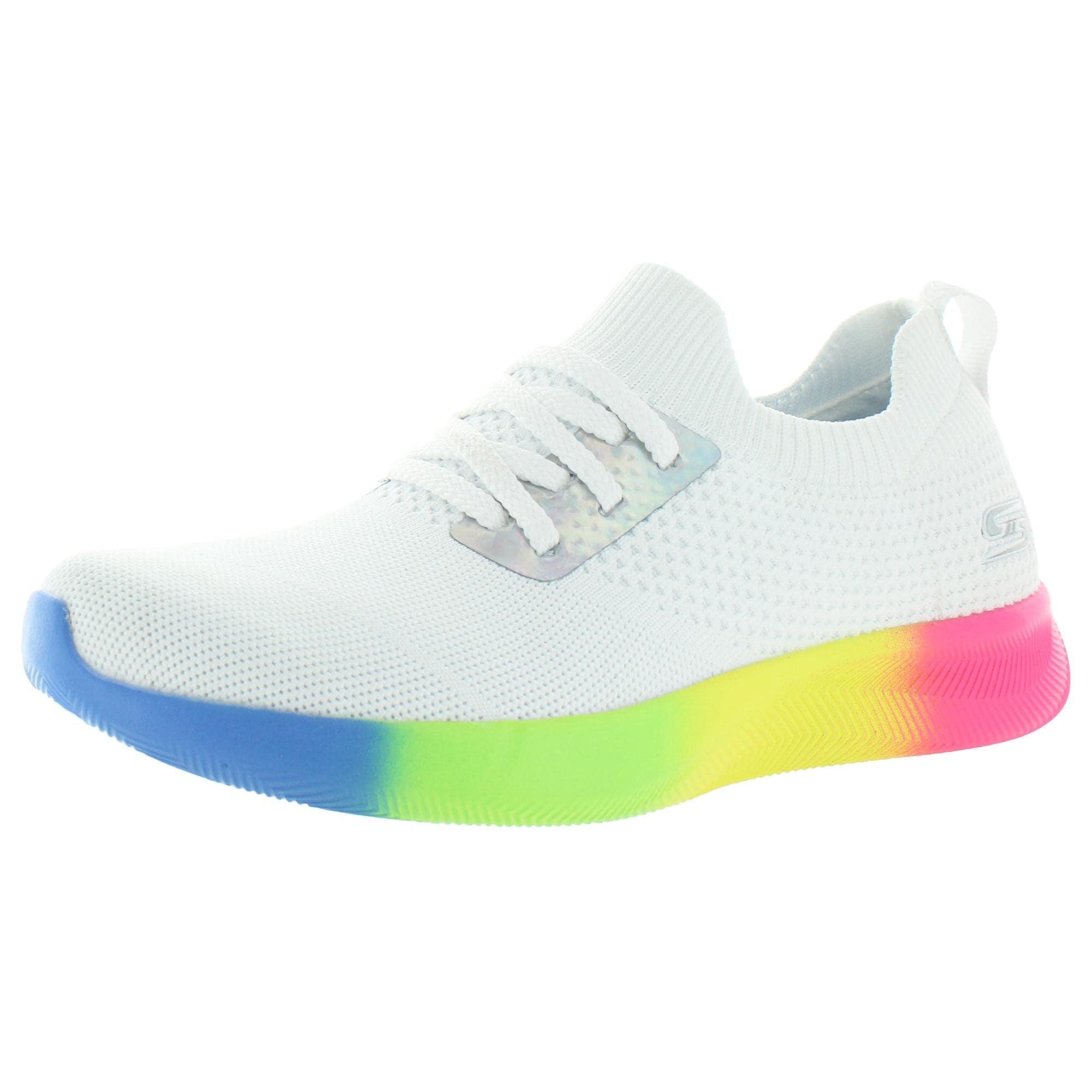 womens rainbow skechers