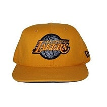 Shop New Era Los Angeles Lakers Throwback NBA Fitted Hat Cap Yellow (Size 6  7 8) - 6 7 8 - Free Shipping On Orders Over  45 - Overstock.com - 17716840 84a7b5f3f67