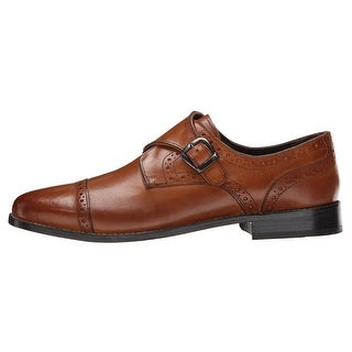 Nunn Bush Mens Newton Leather Buckle Dress Oxfords