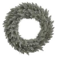 """24"""" Grey Fir Wreath  210T"""