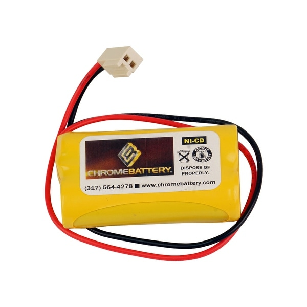 Emergency Lighting Replacement Battery for Dual-Lite - 2KR600AAH49