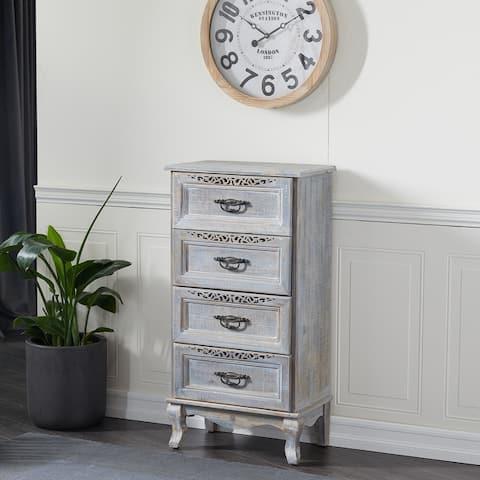 Grey Metal Vintage Cabinet 40 x 21 x 13 - 21 x 13 x 40