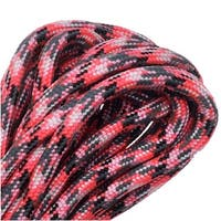 Paracord 550, Nylon Parachute Cord 4mm Thick, 16 Feet, Pink Camo