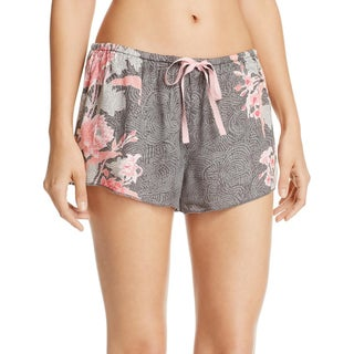 PJ Salvage Womens Pajama Shorts Floral Lounge - S