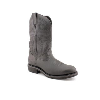 Durango FR100 Men 2E Round Toe Leather Black Western Boot