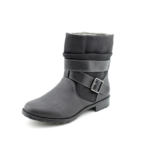 Sporto Womens Tendra Faux Fur Closed Toe Mid-Calf Cold Weather Boots