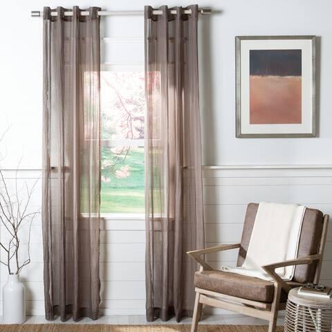 SAFAVIEH Kannon Sheer Window Curtain Panel