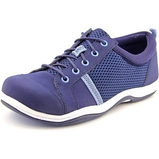Easy Street Buffy WW Round Toe Leather Sneakers