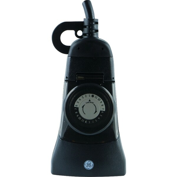 General Electric 24-hour Mechanical Outdoor 2-outlet Plug-in Timer