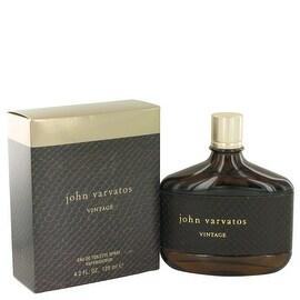John Varvatos Vintage by John Varvatos Eau De Toilette Spray 4.2 oz - Men