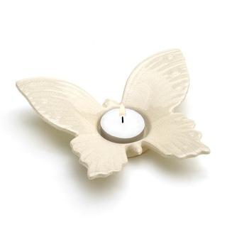 White Butterfly Tealight Holder