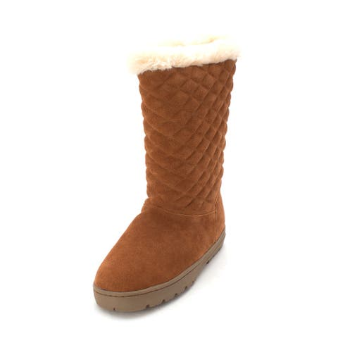 Style & Co. Womens Nickyy Fabric Round Toe Mid-Calf Cold Weather Boots