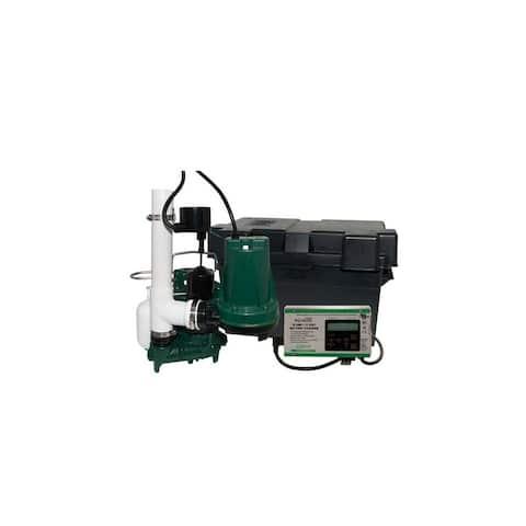 Zoeller 508-0006 12 V Submersible Battery Back-Up Sump Pump System -